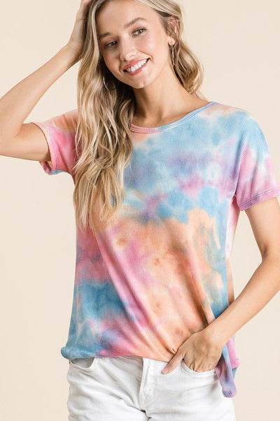 Call Me Crazy Tie Dye Top