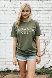 Locals Only Tee