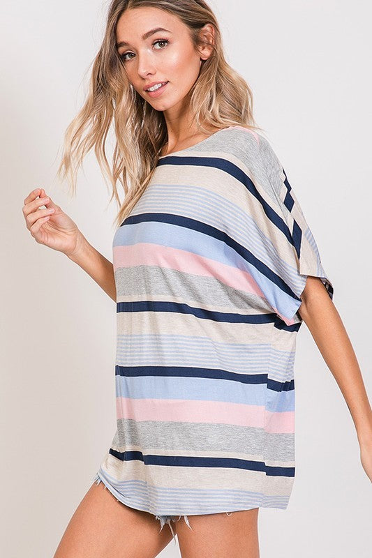 Starting Tomorrow Stripe Top