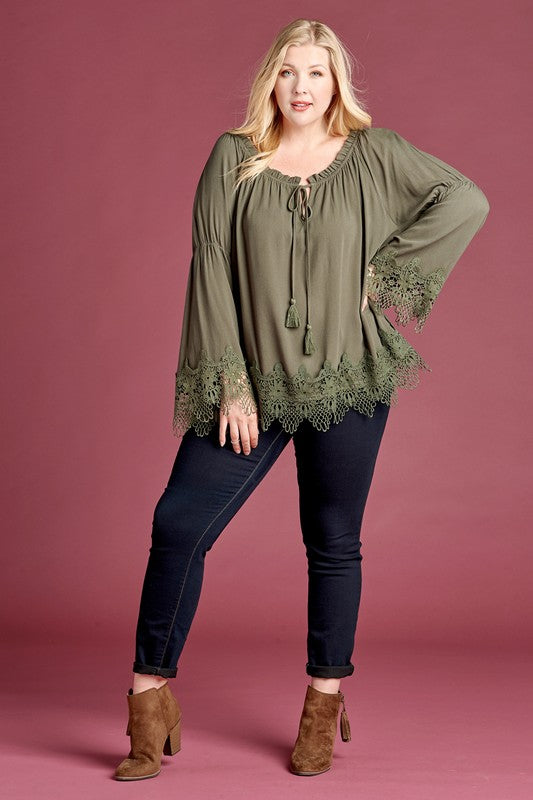 All of Our Days Lace Top
