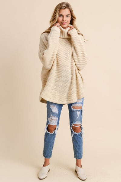 Cozy Fireside Turtleneck