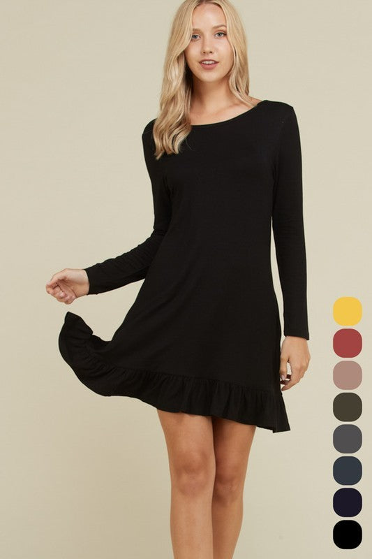 Everyday Ruffle Dress - Plus