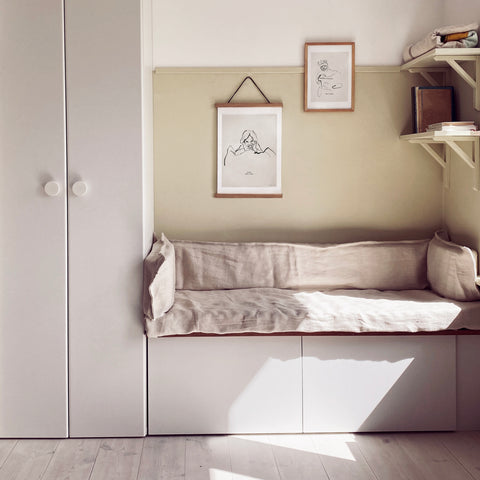 nook kids room ikea hacks bestå jotun