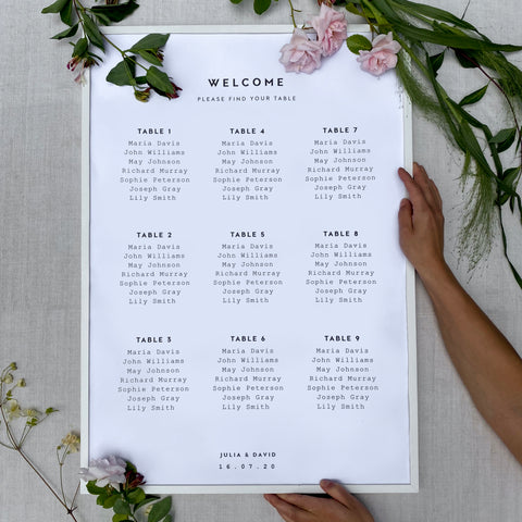 wedding placement list clean and exclusive