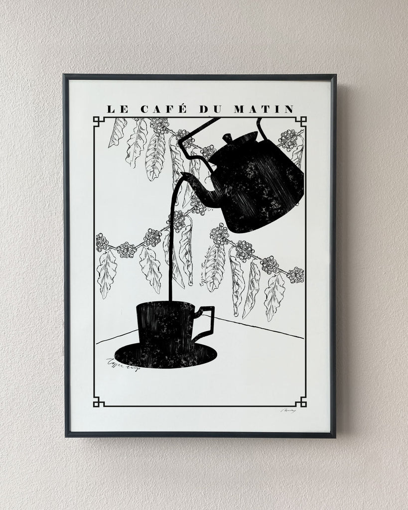 coffee kitchen poster