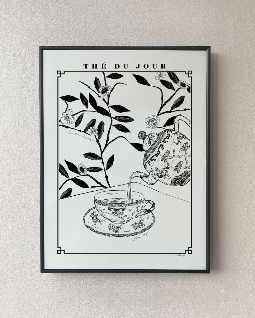 tea kitchen poster