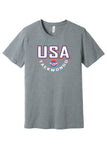 USA Taekwondo Full Print #2 Short Sleeve Tee