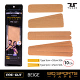 TUSAH BIO SPORTS TAPE Pre-Cut (Beige)