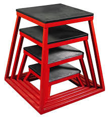 Set of 4 Plyometric Steel Box