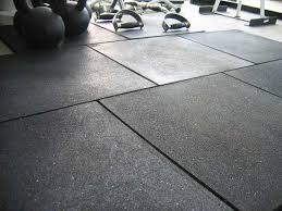 Black Rubber Tiles