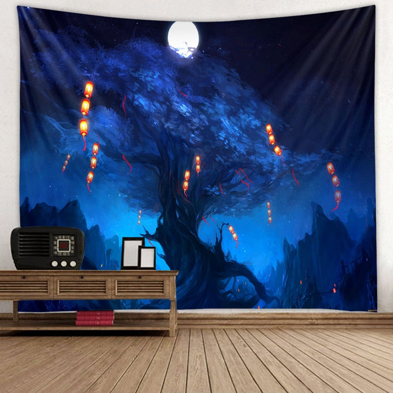 Assorted Wall Tapestries
