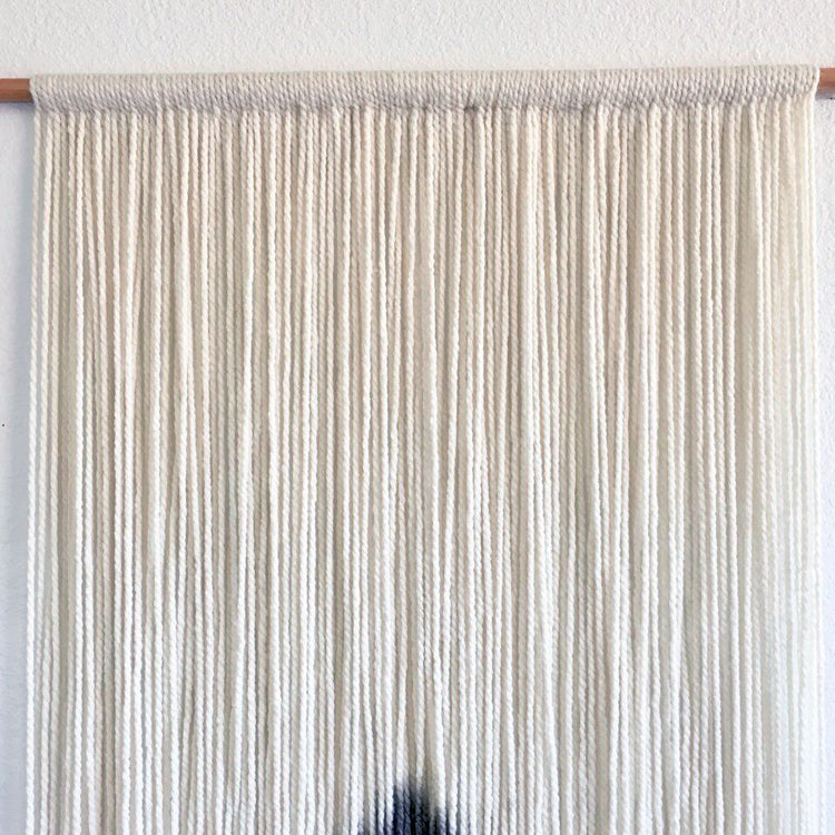 Macrame Dyed Wall Tapestry