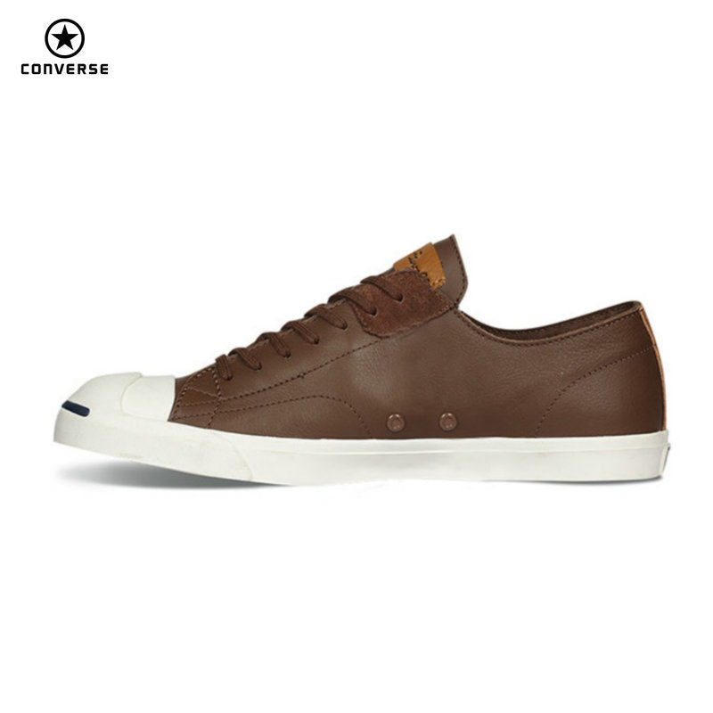 Converse JACK PURCELL Unisex Low-Top Leather Sneakers