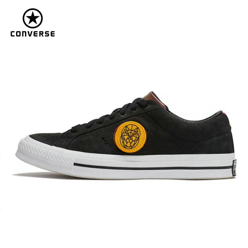 Converse All Star Limited Edition Sneakers with Dog Logo.