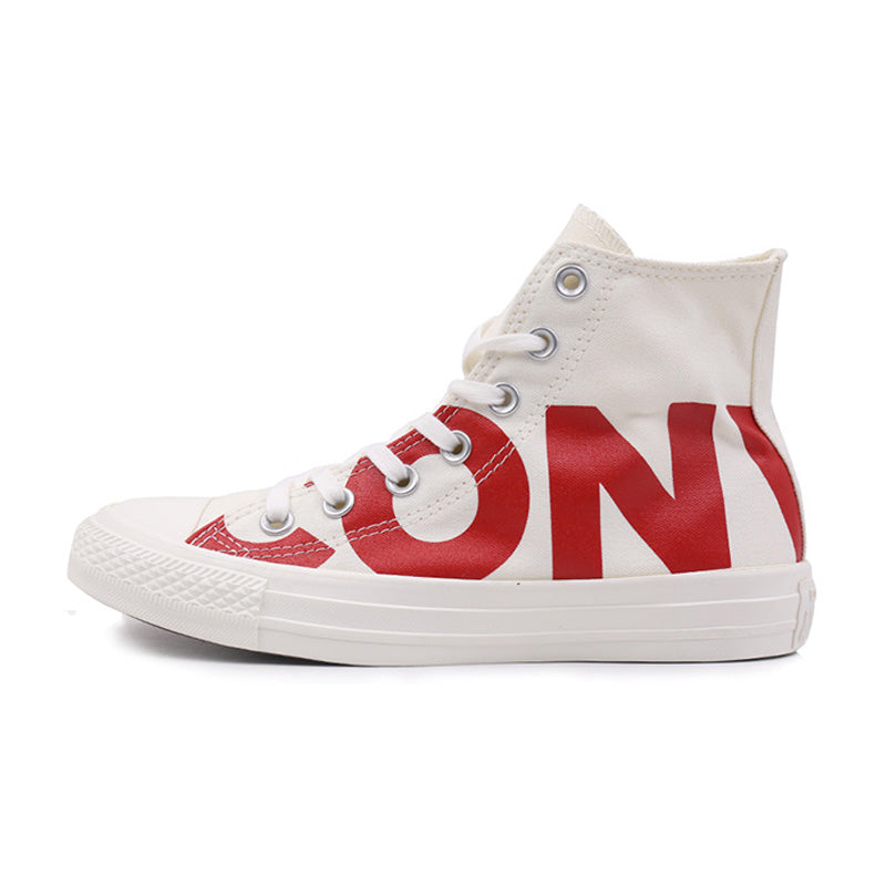 "Converse All Star Unisex Sneakers with ""Converse"" Print."