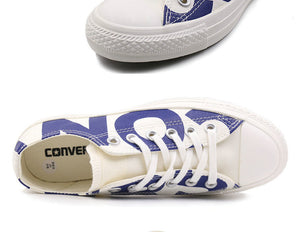"Converse All Star Unisex Low-Top Sneaker with ""CONVERSE"" Print"
