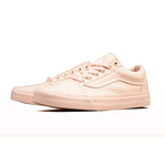 Vans Pink Color Low-Top Women's Skateboarding Sneakers
