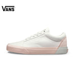 Original Vans Pink Color Low-Top Women's Skateboarding Sneakers