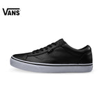 Vans Black Color Low-Top Men's Skateboarding Sneaker
