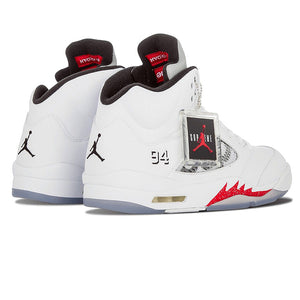 "Nike Air Jordan 5 Retro Supreme ""Supreme"" Men's Basketball Sneakers"