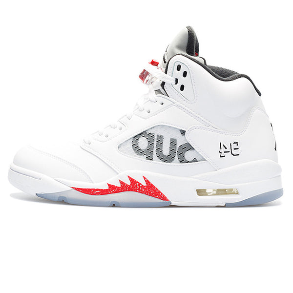 finest selection 530a3 d36c8 ... Nike Air Jordan 5 Retro Supreme