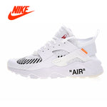 Off White X Nike Air Huarache Ultra ID Men;s Running Sneakers