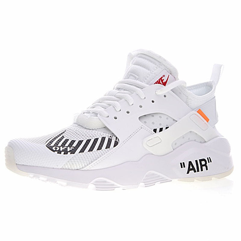 new style 4b020 9cc78 Off White X Nike Air Huarache Ultra ID Men;s Running Sneakers