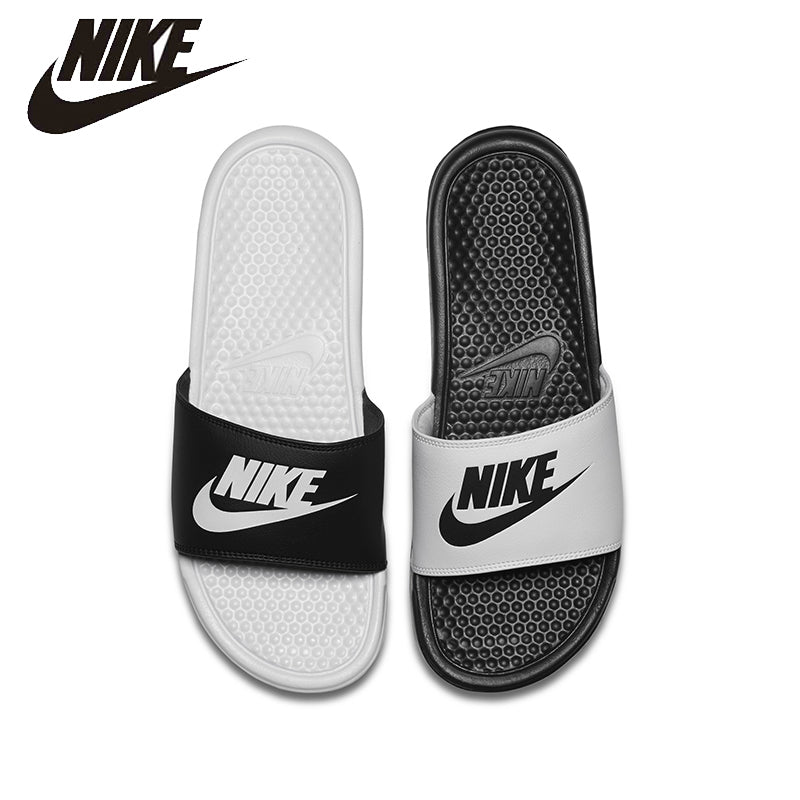 NIKE BENASSI JDI MISMATCH Beach & Outdoor Flip Flops. Summer Stability Quick-Drying Anti-chlorine Flip Flops For Men