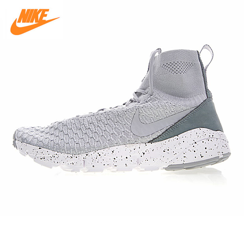 NIKE AIR FOOTSCAPE MAGISTA FLYKNIT FC Men's Running Slip-On Sneakers