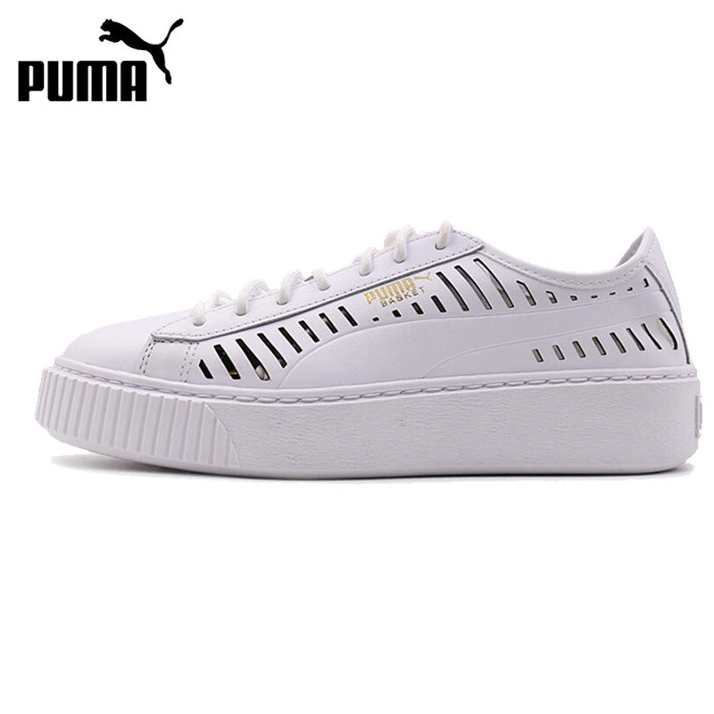 PUMA Basket Platform Summer Wn Women's Skateboarding Sneakers
