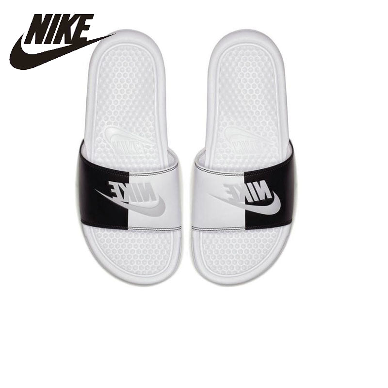 NIKE Nike Benassi JDI Beach & Outdoor Flip Flops. Summer Stability Quick-Drying Anti-chlorine Flip Flops For Men