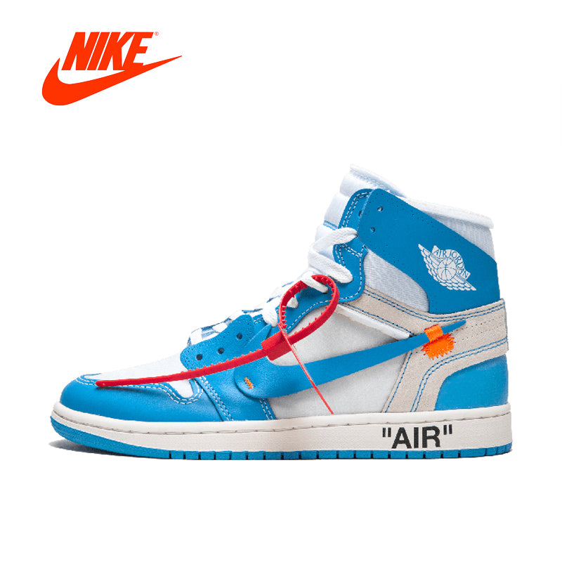 NIKE Air Jordan 1 X Off-White Men's Basketball Sneakers