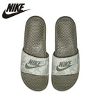 Nike Benassi Jdi Print Beach & Outdoor Flip Flops. Summer Stability, Quick-Drying, Anti-chlorine Flip Flops For Men