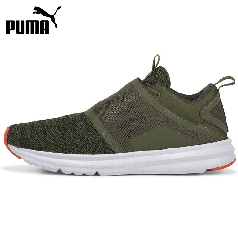 PUMA Enzo Strap Knit Men's Running Shoes