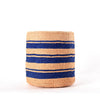 Large Blue Stripes bahati basket