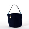 Lapis Blue Bucket Bag
