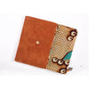 White Mud Cloth Clutch bag