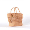 Biscotti Natural Plaited Tote
