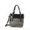Safari Bag Black And White Tribal