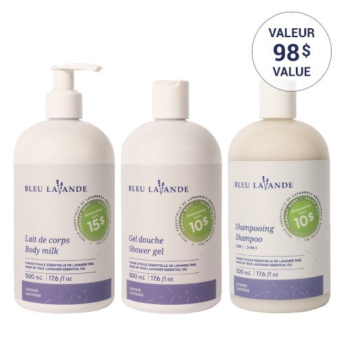 Ensemble trio 500 ml / 500 ml trio bundle