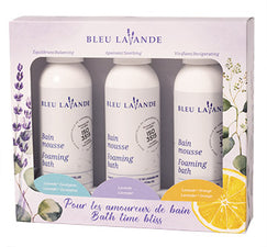 Trio bain mousse / Foaming bath trio