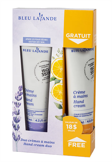 Duo crèmes à mains 2 pour 1 / 2 for 1 hand cream duo