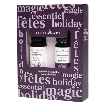 Duo d'huiles essentielles festives  / Festive essential oil duo