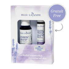 Duo huiles essentielles de lavande / Lavender essential oil duo