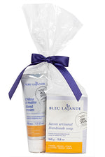 Ensemble Petit gourmand / Little lavender-orange set