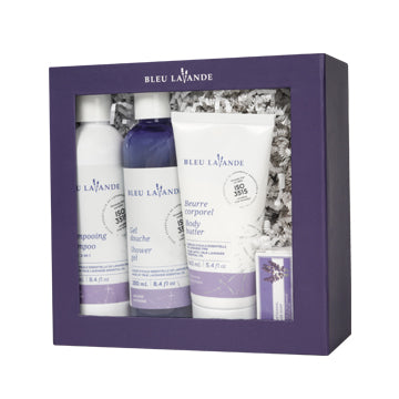 Ensemble bain & douche lavande / Shower & bath gift set