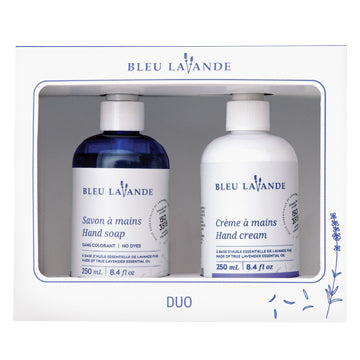 Duo mains lavande / Lavender handcare Duo gift set