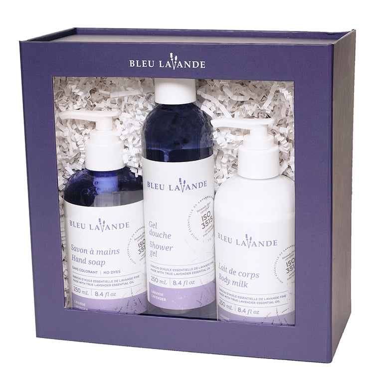 Ensemble soins mains et corps lavande / Lavender hand and body care set