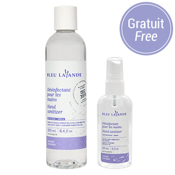 Duo désinfectants pour les mains / Hand sanitizer duo