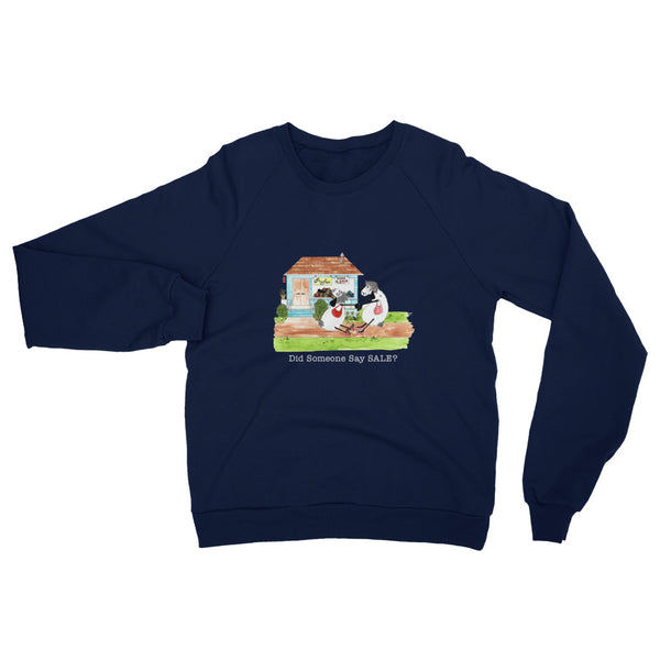 Yarn Sale Unisex California Fleece Raglan Sweatshirt